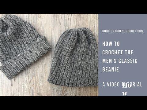 Pin On Crochet A Simple Cute Hat Video Tutorials