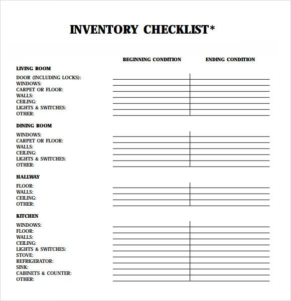 landlord inventory template free download koni polycode co
