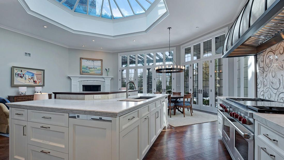 A German kitchen in a French-style mansion outside Chicago - it all ...