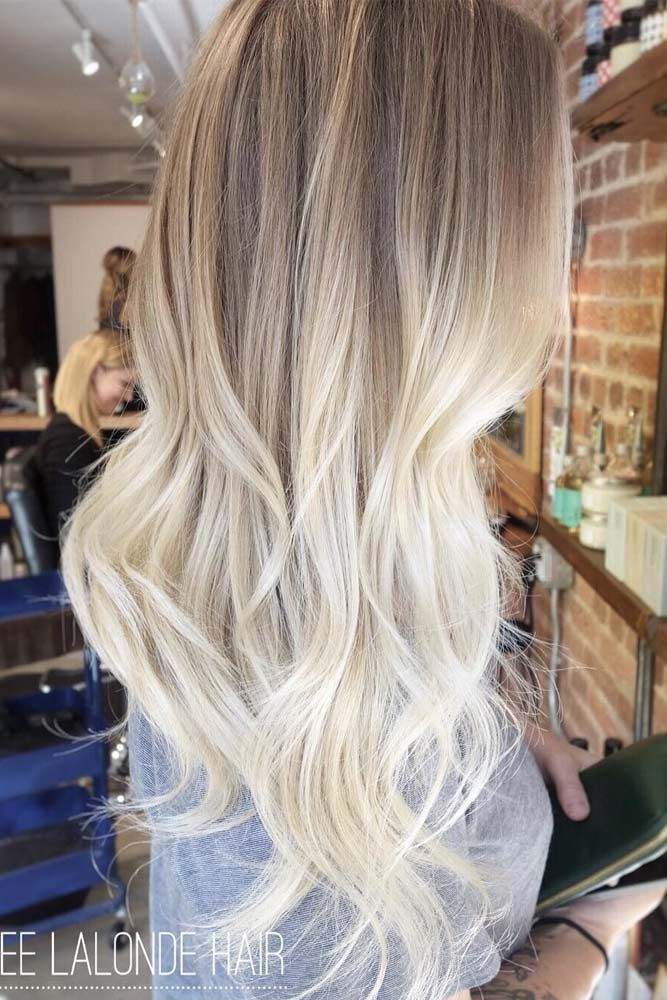 Pin By Anna O On Blonde Ombre Hair Blonde Hair Styles Balayage Hair