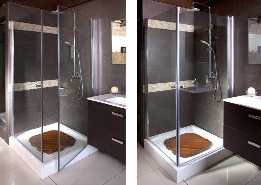 Puertas para duchas 528 374 ba os - Duchas modernas para banos pequenos ...