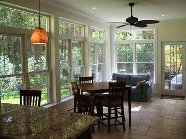 Kitchen Renovation And Sunroom Addition   Traditional   Dining Room    Boston   By Clarke Associates