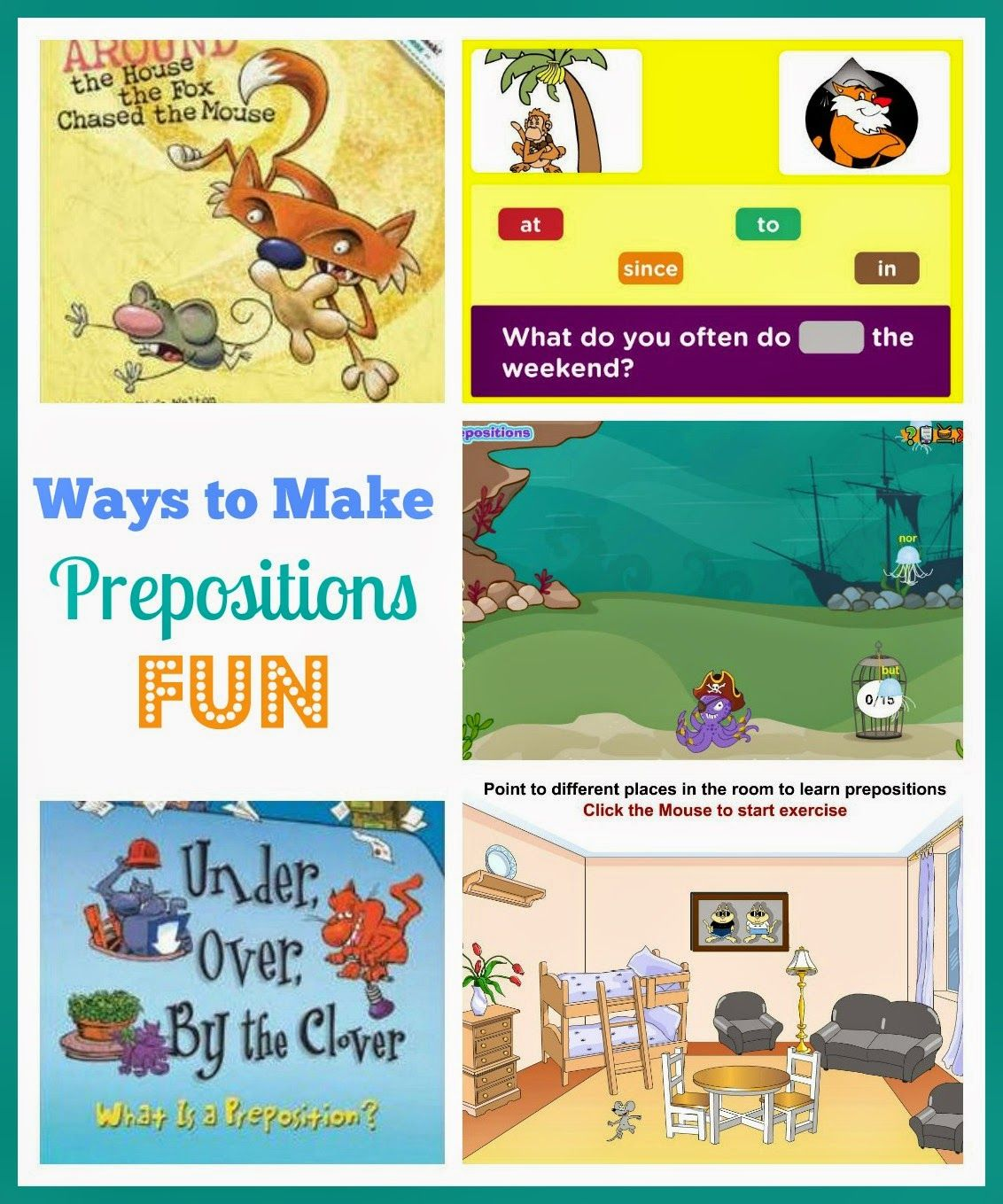 Fun Ways To Teach Prepositions