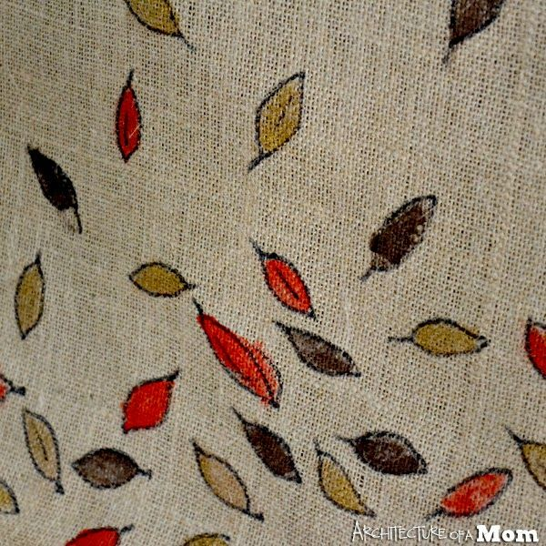 Architecture of a Mom: Fall Tablescape & Falling Leaves Table Runner #31Days #createwkids
