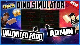 New Roblox Hack Dinosaur Simulator Mod Menu Unlimited Food Water And More Dinosaur Simulator Roblox Simulation