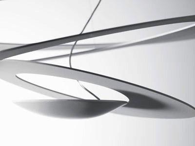 """Lámpara suspensión """"Pirce"""" de la firma italiana Artemide. www.helios.com.ve"""