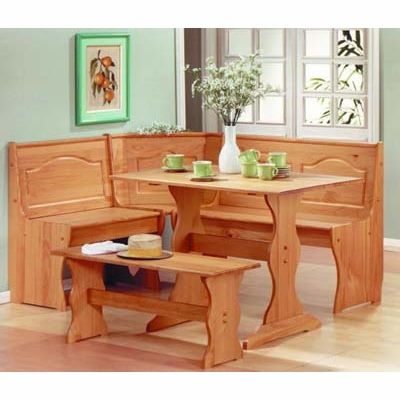 Fantastic Chelsea Breakfast Corner Kitchen Nook Set Large Kitchen Spiritservingveterans Wood Chair Design Ideas Spiritservingveteransorg
