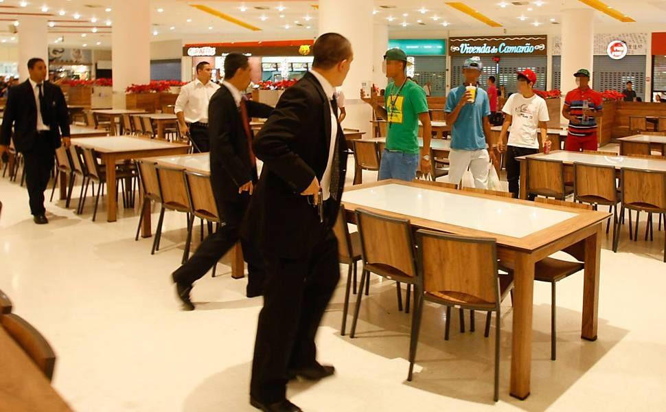 """Resumo da situação.  """"Shopping Internacional de Guarulhos""""."""