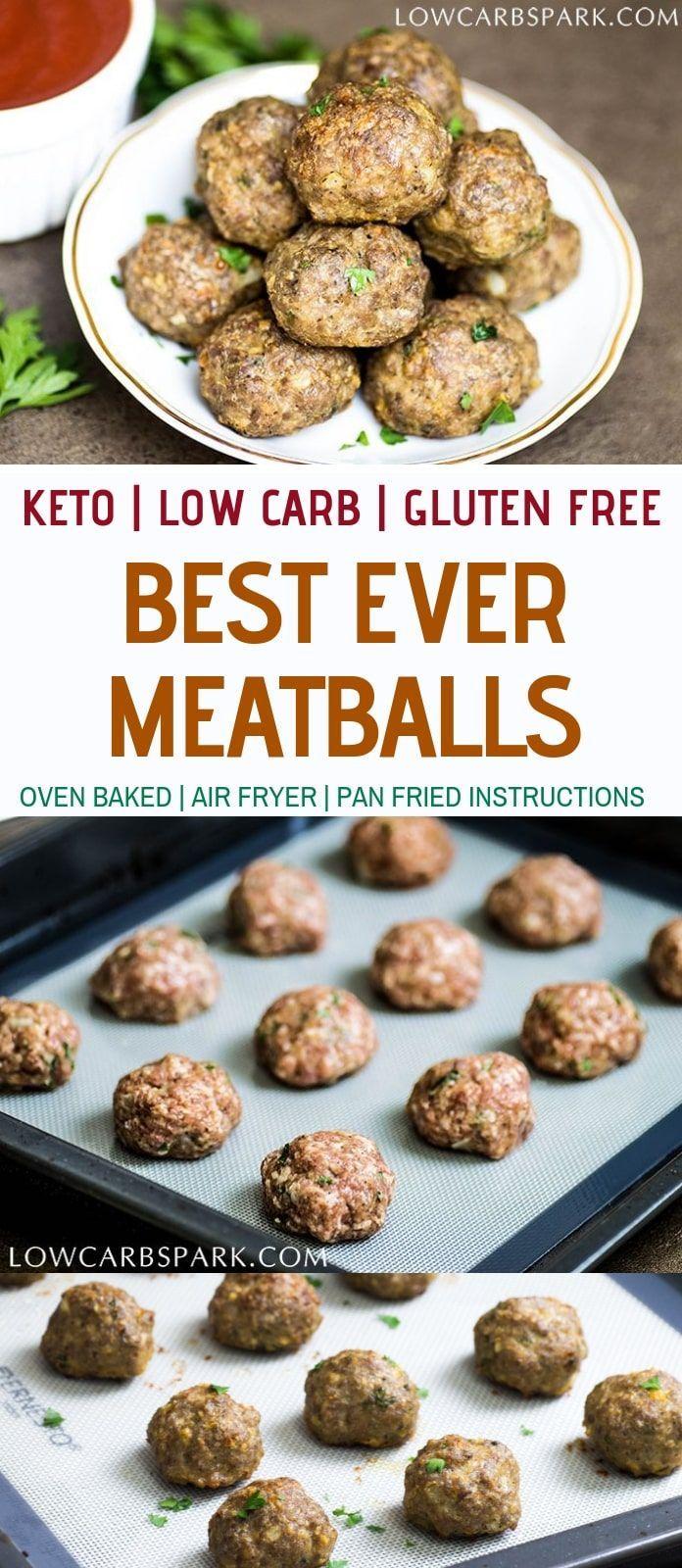 Die besten Keto-Fleischbällchen – Carey&CleanEatingS