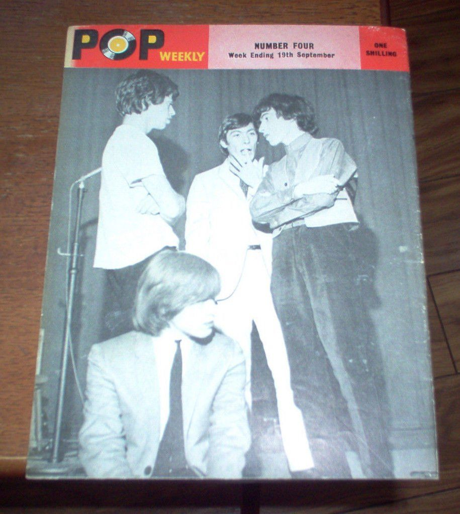 The Rolling Stones - Pop Weekly; September 1964