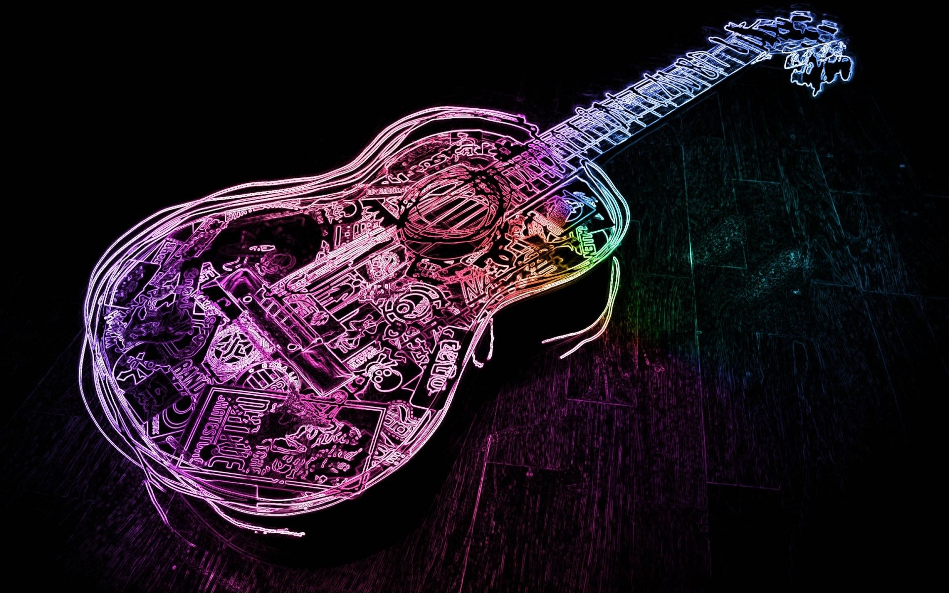 cool guitar wallpaper for - photo #37