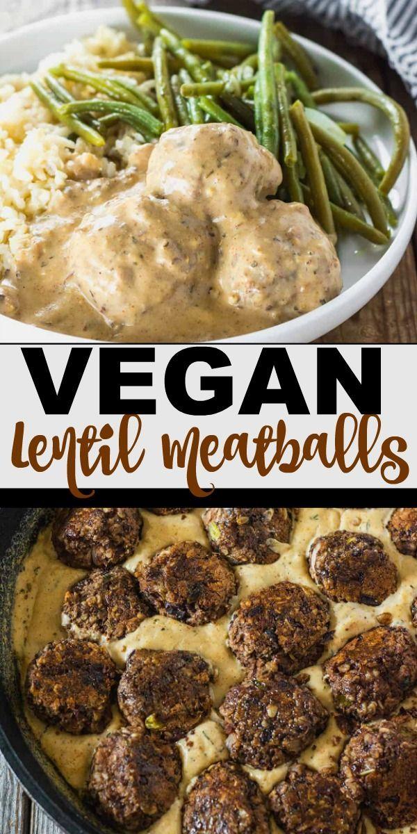Lentil Meatballs (Vegan, Gluten-Free) - Healthier