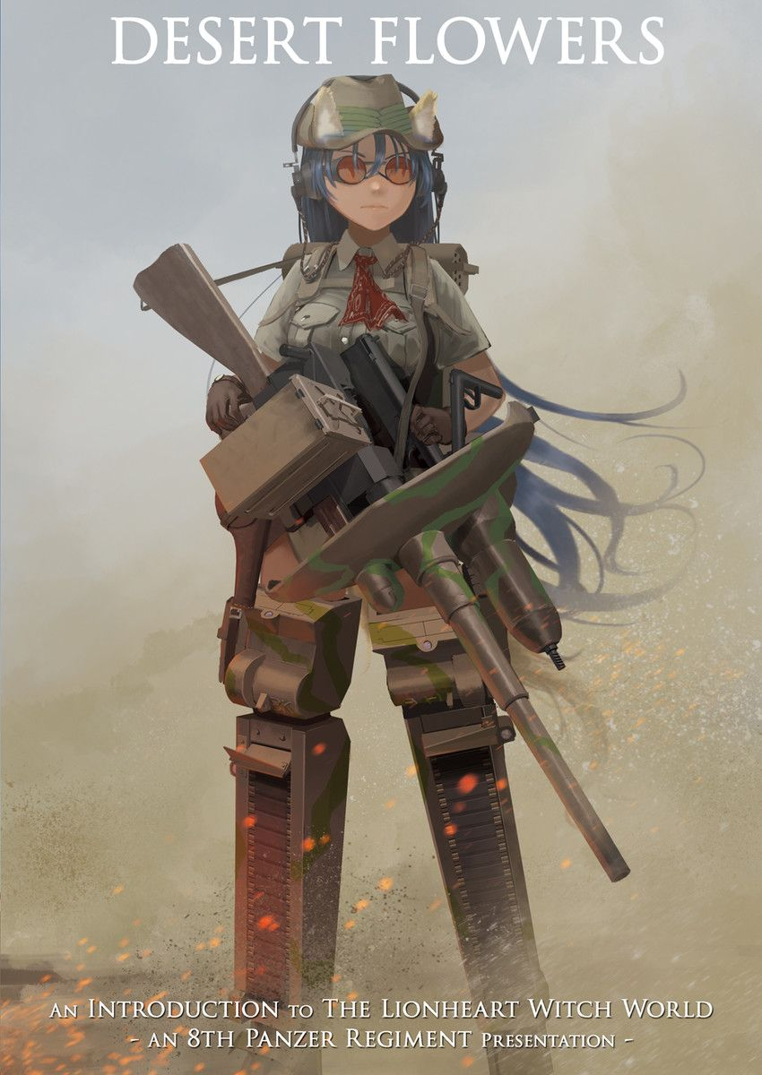 Pin By Pattonkesselring On Tank Girls Anime Military Strike Witches Witch Series