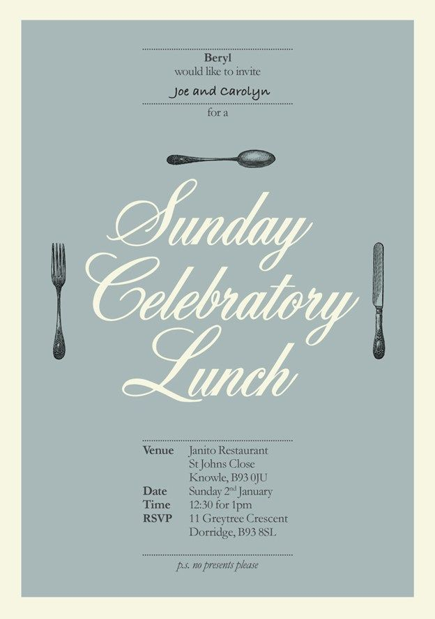 For His Grandmother S 90th Birthday Will Kinchin Graphic Design
