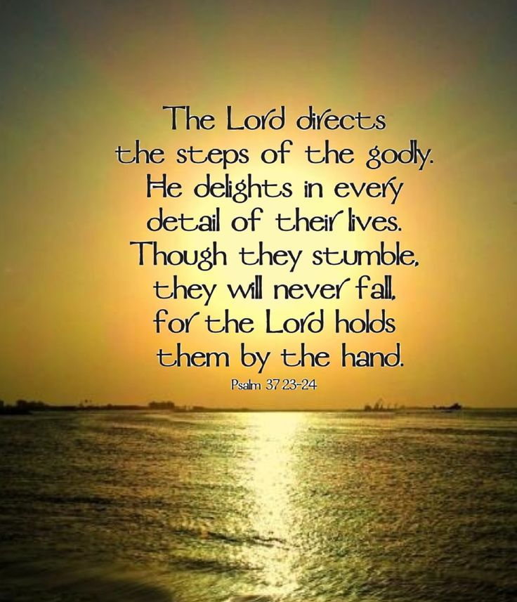 Image result for photo psalm 37:23   Bible Study   Bible ...