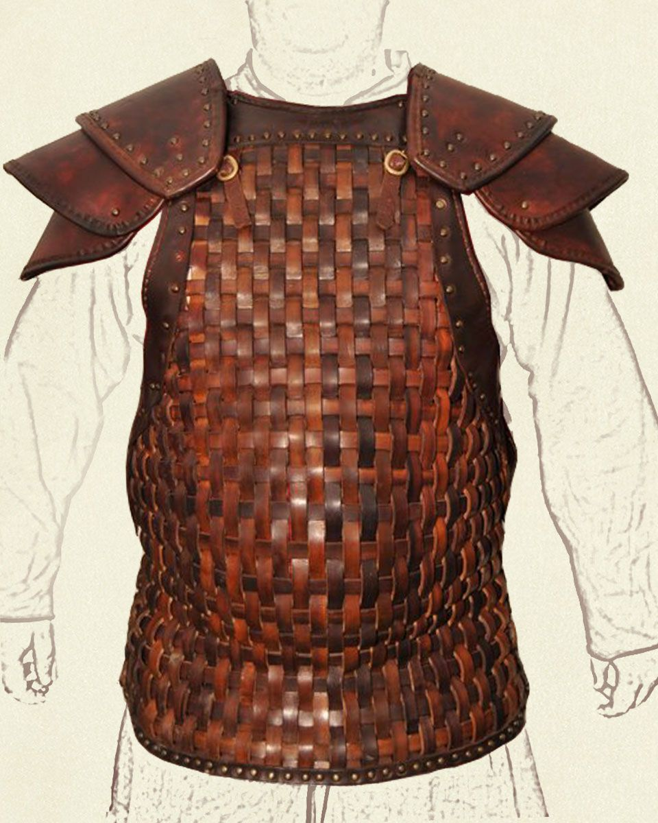 woven leather armor - Google Search