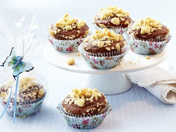 Pralinen-Muffins mit Vanillestreuseln Rezept Pinterest Muffin - chefkoch käsekuchen muffins