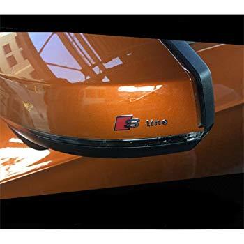 BENZEE 2 B254 Car-Styling S Line Sline KOTFL/ÜGEL Emblem-Button Sticker Aufkleber f/ür AUDI A3 A5 A6 A7 A8 Q3//Q5//Q7 A4