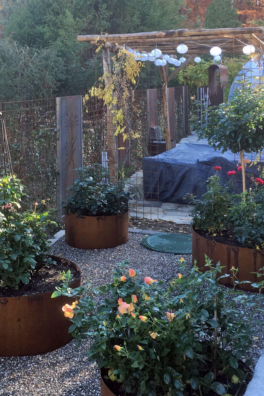 Sichtschutzwand Mit Verschiedenen Motiven Muro Sichtschutz Sichtschutzwand Cortenstahl Corten Handwerk Kunstha Sichtschutzwande Garten Gartengestaltung