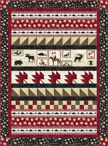 Northcott The National Tapestry pattern | Quilts | Pinterest ... : quilt canada - Adamdwight.com