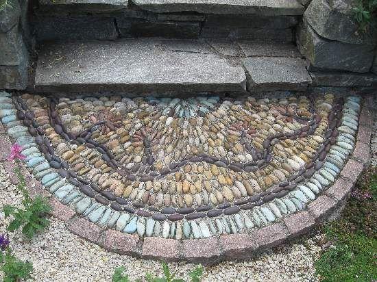 pebble mosaic 7-22