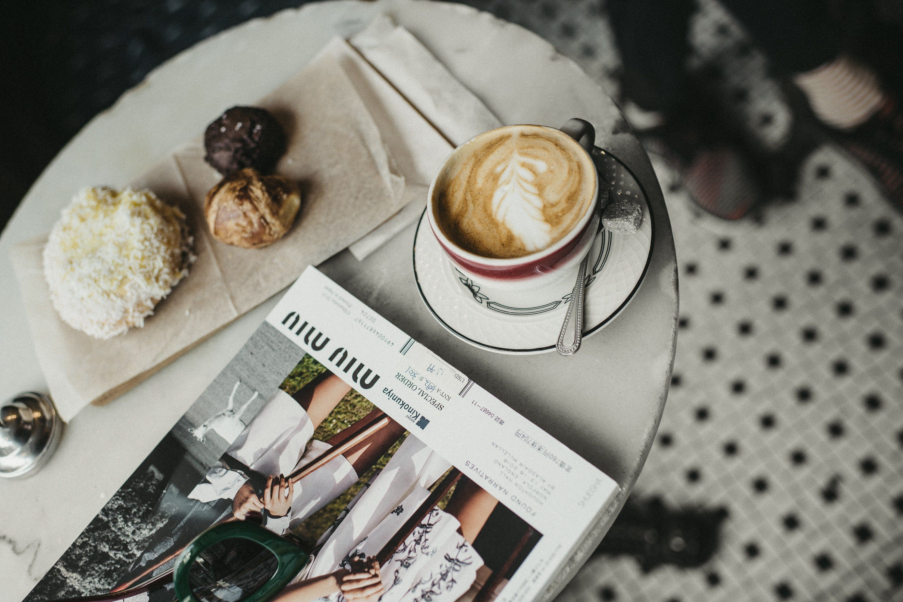 Coffee break at Bakeri NYC | #food #photooftheday #fashionblog #nyceats #lifestylephotography #coffeeaddict #fwis #brunchclub #nycblogger #nycphotog #bakedgoods #foodphotography #cappuccino #aesthetic #styleblog #pastries #nyccoffeeshops