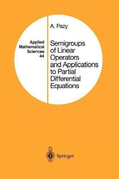 Semigroups of linear operators and applications to partial semigroups of linear operators and applications to partial differential equations fandeluxe Images