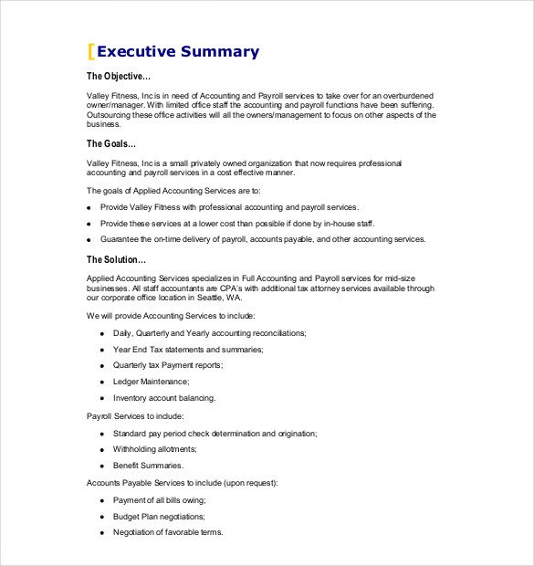 Business Proposal Template Free Word Pdf Documents Download Printable Sample Form Forms And