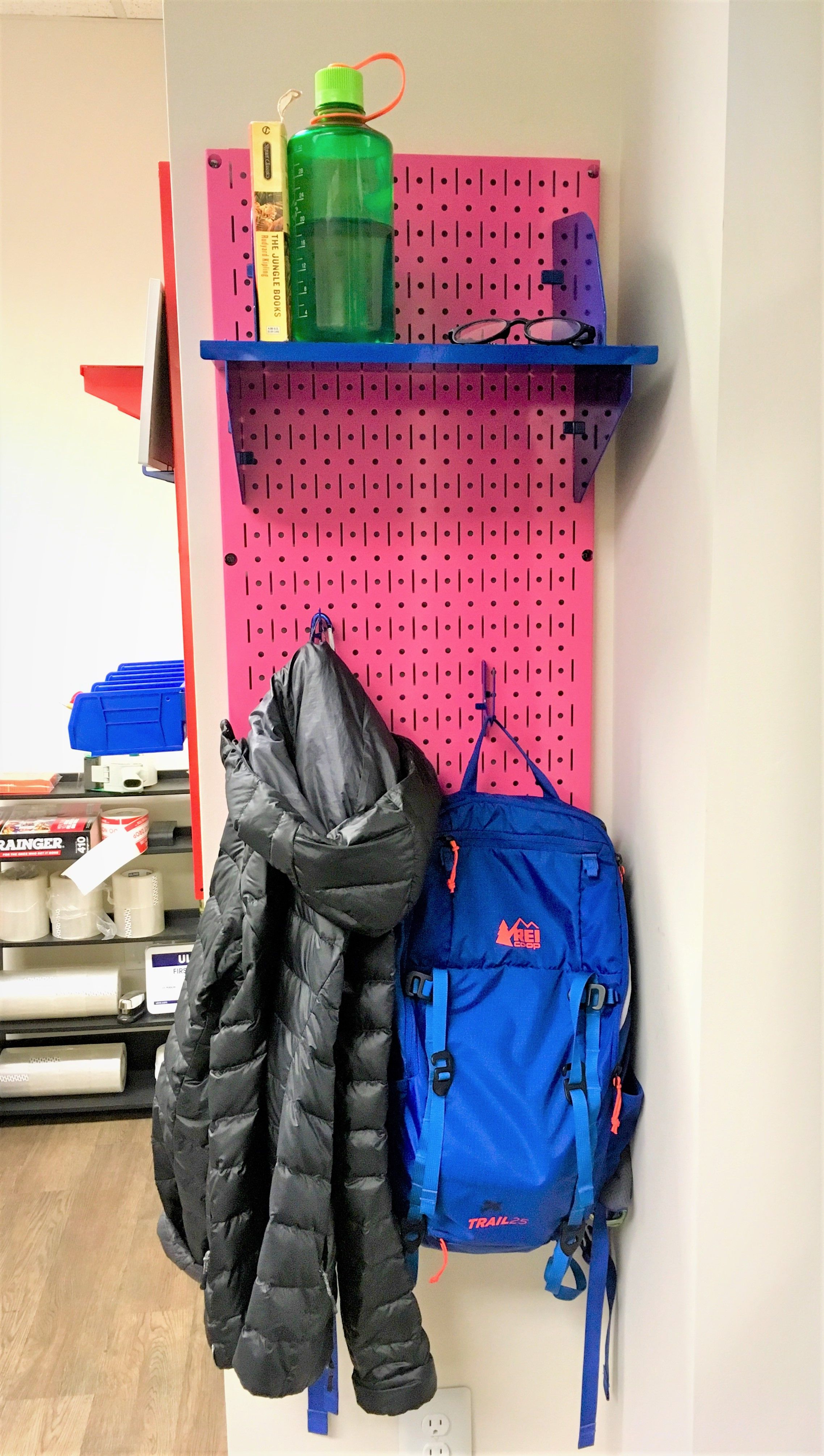 i love my wall control pegboard its a perfect office work on wall control id=85633