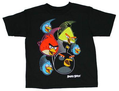 Juvenile Angry Birds t-shirt