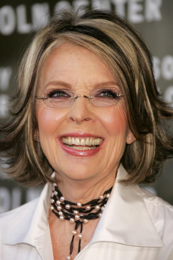Diane Keatonu0027s Layer Haircut | Diane Keaton Hairstyle Pictures