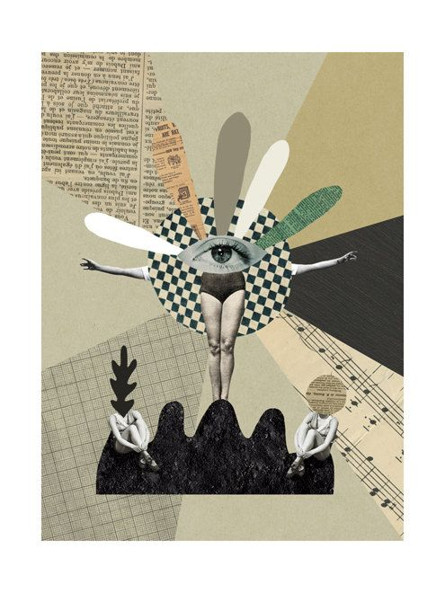 Totem / Print / Poster by MathildeAubier on Etsy