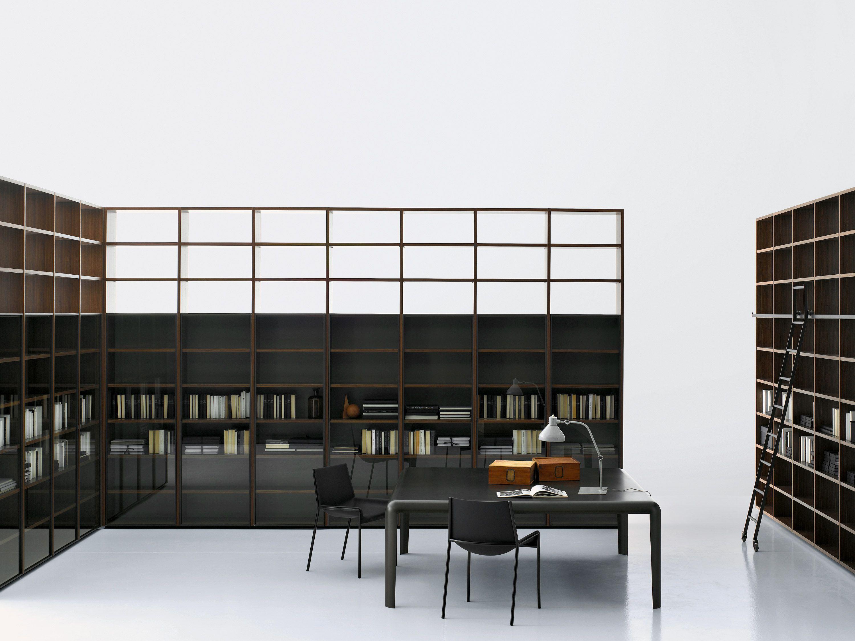 Scaffali Ufficio Design : Porro spa prodotti sistemi vetrina showcase librerie