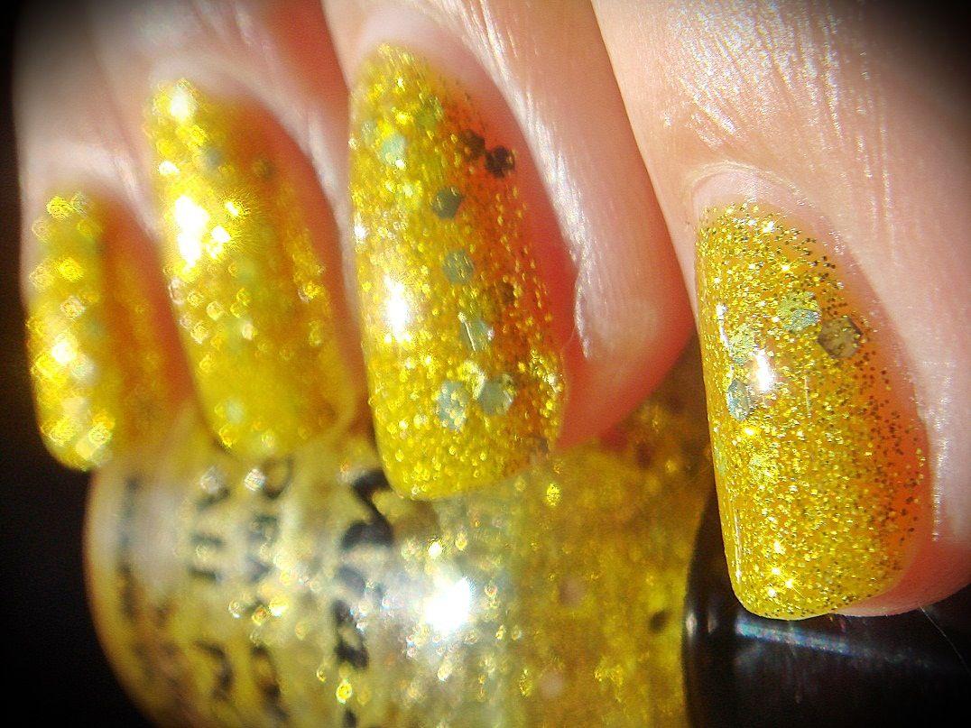 Gold - Glitter INK by Mia Secret. | Mia Secret - Nail Polish | Pinterest