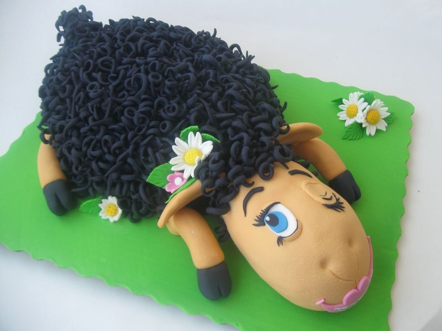Black Sheep Birthday Cake