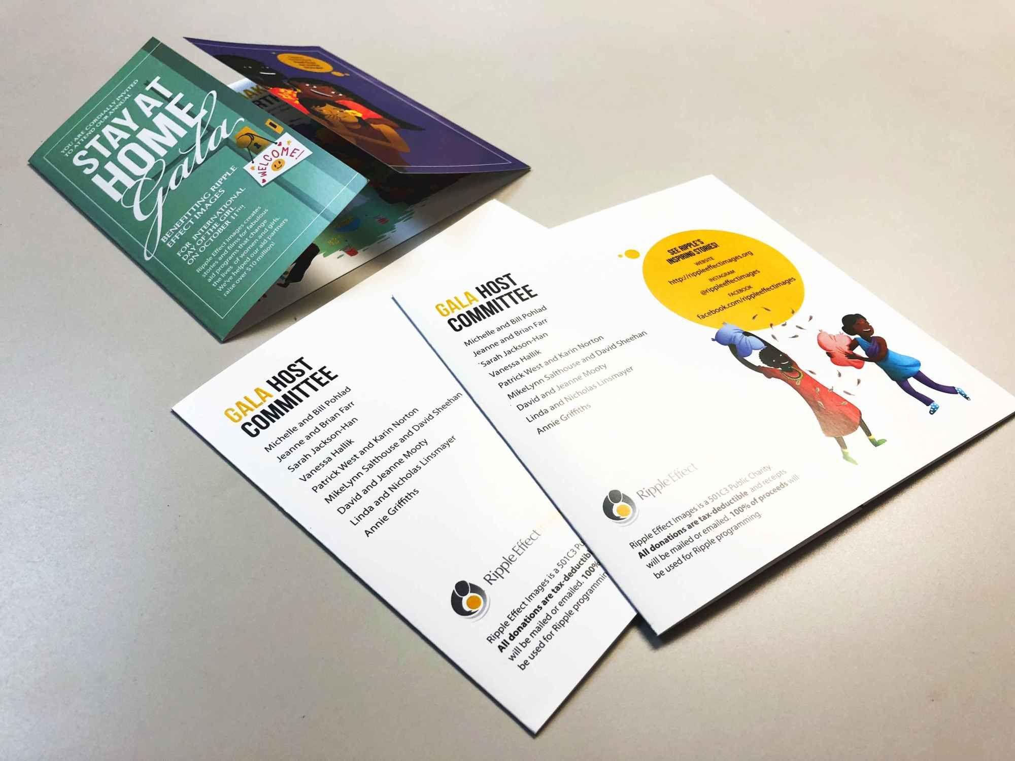 Custom Brochure Printing, Unique Brochure Design, Gate Fold