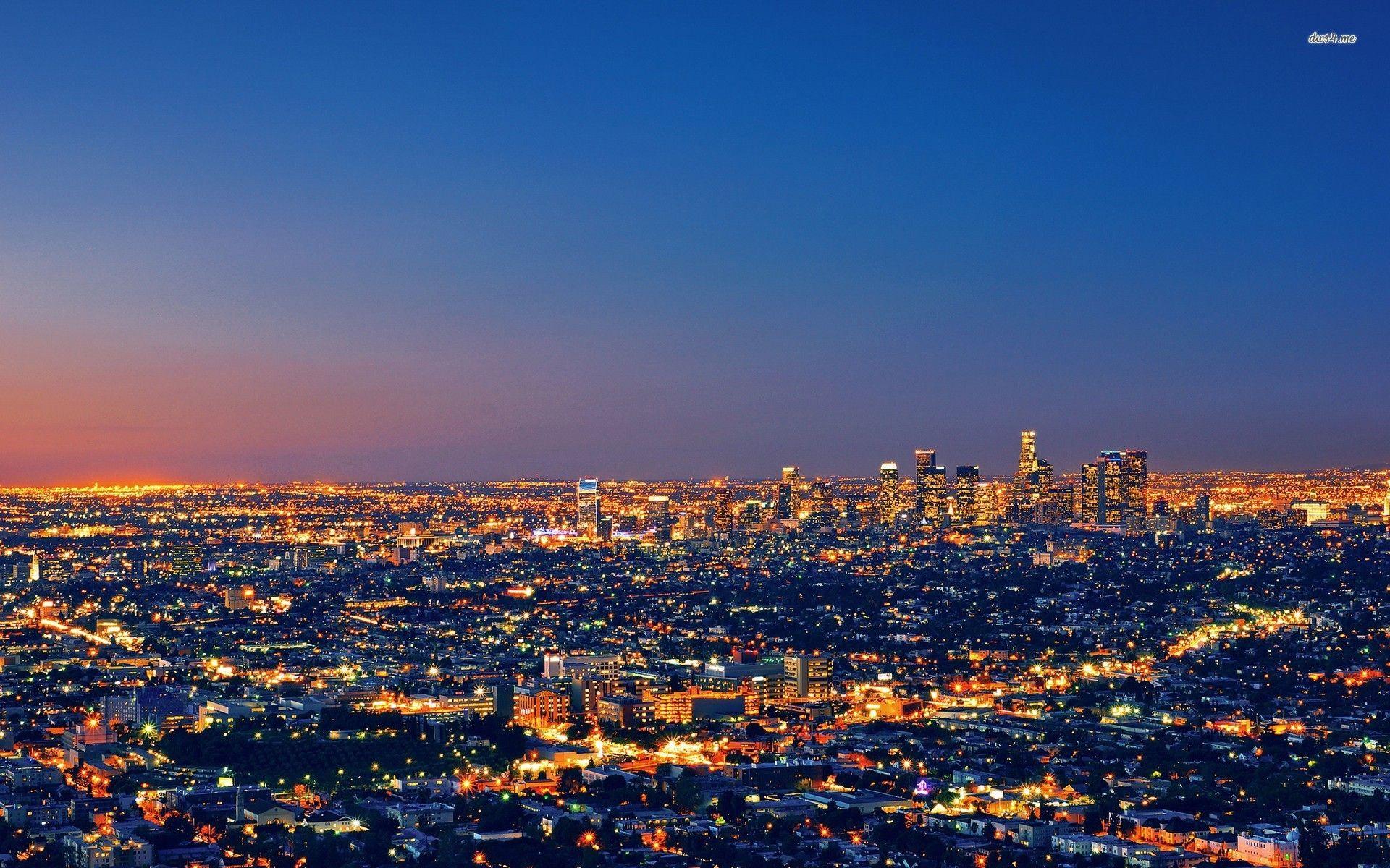 Los Angeles Free Wallpaper Wallpapersafari Los Angeles Wallpaper Los Angeles Pictures Los Angeles At Night