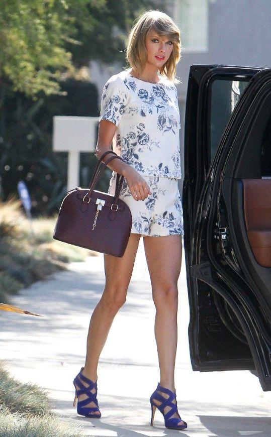 Fitness Inspiration: Taylor Swift's Street Style