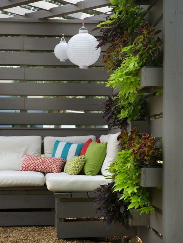 Jardinière en palette de bois : 74 modèles à faire soi-même   Deco ...