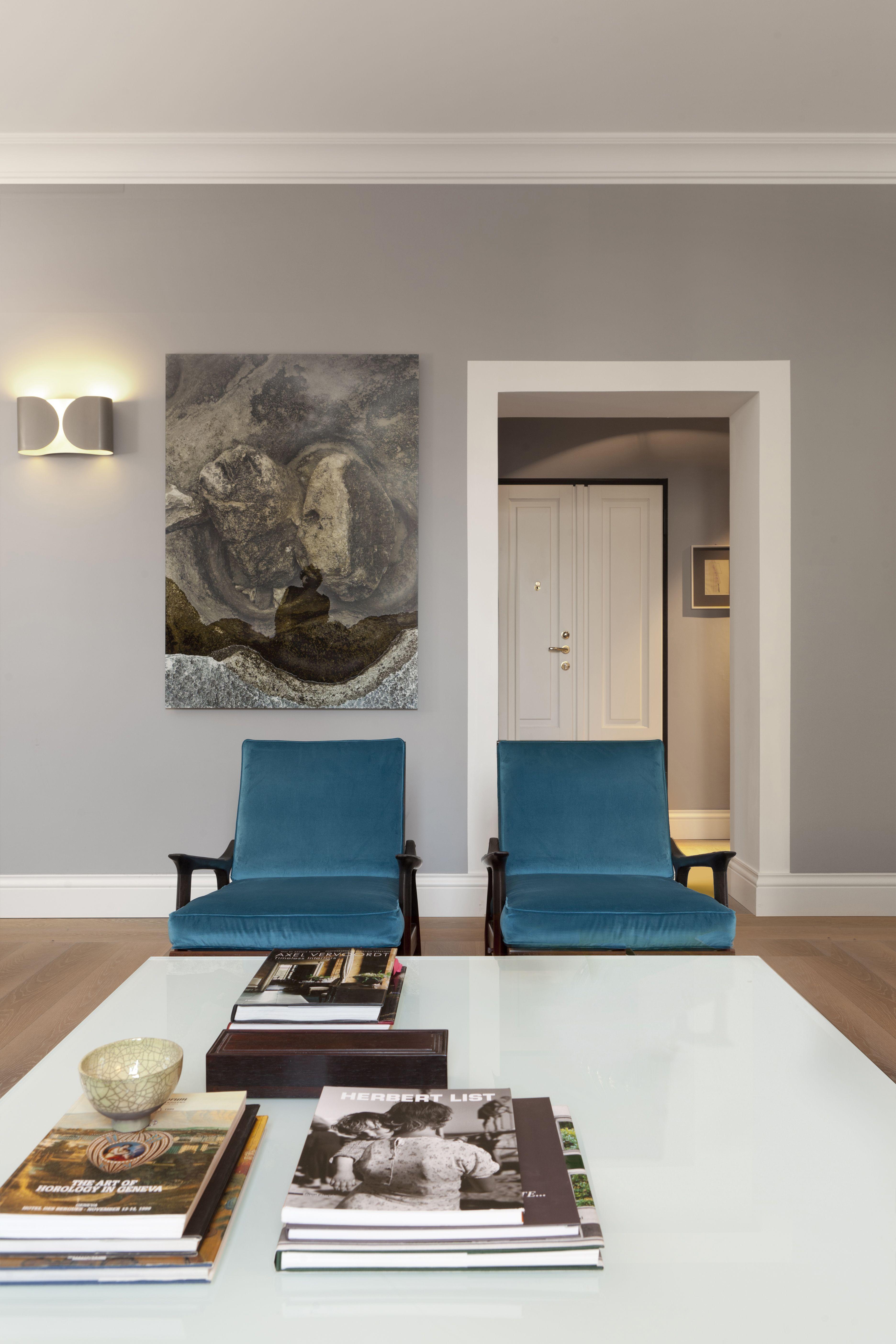 Soggiorno, poltrone, quadri, dettagli, cornici | SMC_Apartment ...