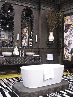 Modern Gothic Home Decor tim burton home decor - google search | house ideas | pinterest