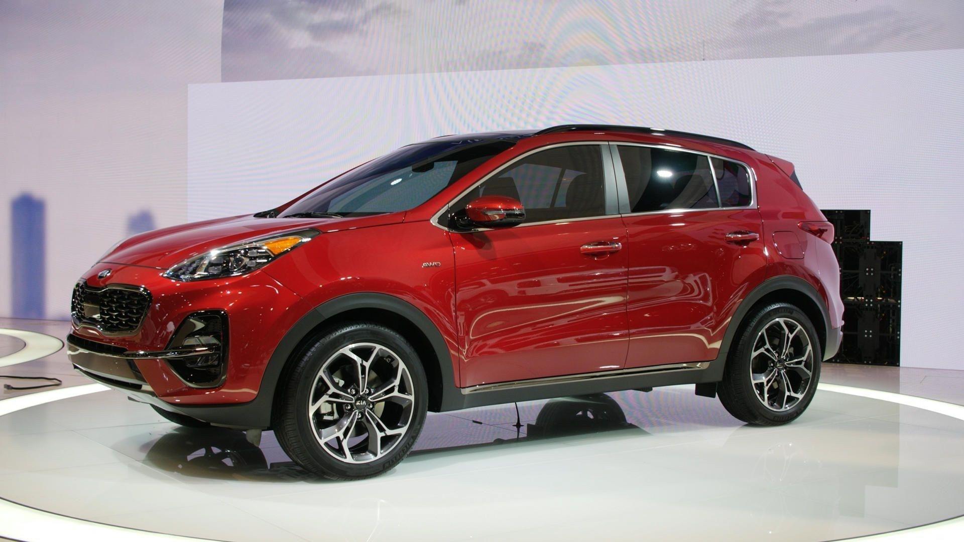 2020 Kia Sportage Grows Up For The Chicago Auto Show Kia