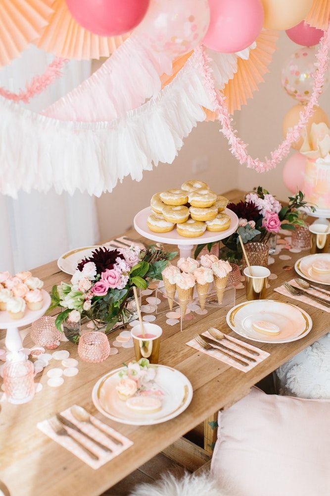 LENZO Boho Birthday Ruby Rabbit Table Setting | Kids Birthdays WE ...