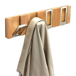 The Container Natural Hookaboo Hook Rack By Umbra I Know These Are More Expensive Than Command Hooks But They Look So Nice