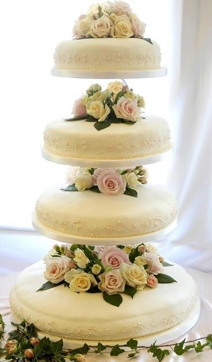 simple but oh so pretty   Cakes I Love   Pinterest   Cake, Wedding ...