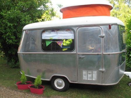 Elegant Small Bondwood Van And Towcar For Sale  Vintage Caravans
