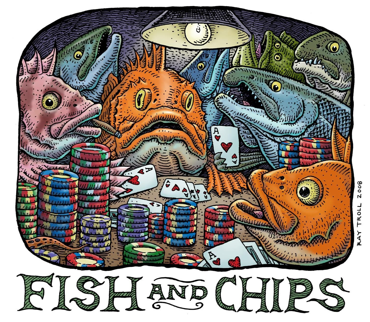 Pin by Сергей Абсалямов on Art Three Fish and chips
