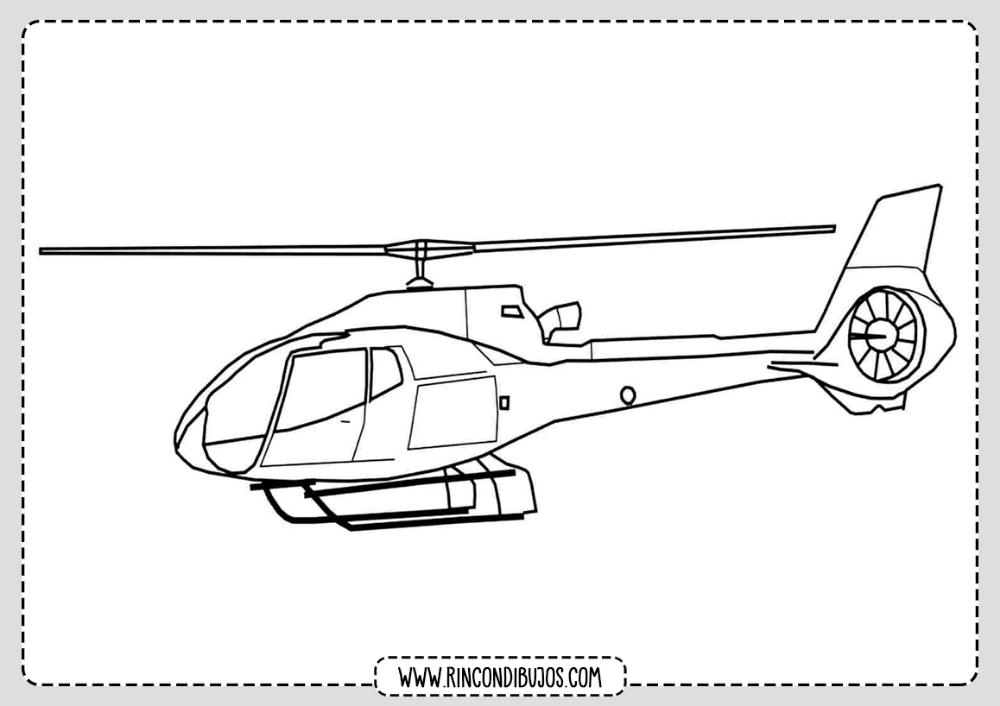Dibujos Colorear Helicopteros Rincon Dibujos Helicopteros Colores Dibujos