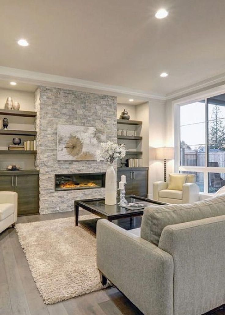 This unique Fireplace makeover is genuinely a powerful ...