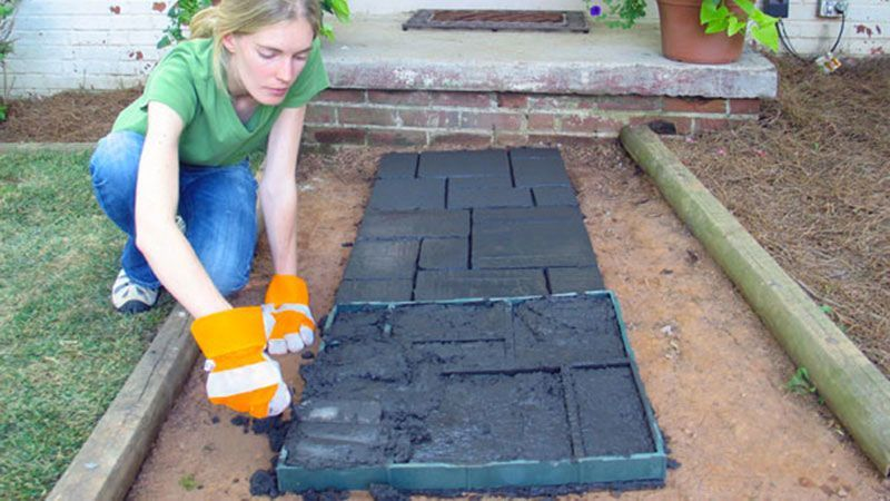 The Quikrete Walkmaker Helps You Lay Pavers in Minutes